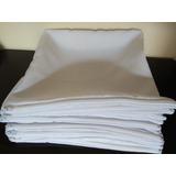 10 Capas De Almofadas 40x40 Para Sublimação Toda Branca