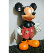 Antigua Figura De Goma - Mickey Mouse - 20 Cent. - Disney