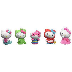 Just Play Cifras De Hello Kitty 5 pk Cifras Toy Figure