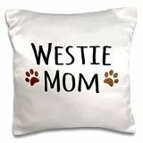 3drose Westie Dog Mom-west Highland White Terrier-mascota P