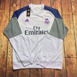 Real Madrid 2017/18 Buzo Saco Sudadera Hoddie Chaqueta