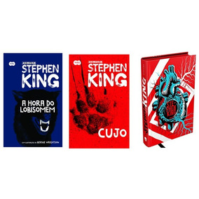 A Hora Do Lobisomem + Cujo + Stephen King A Biografia