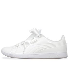 Tenis Puma Vikky Ribbon - 36641702 - Blanco - Mujer