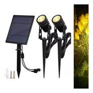 2 Estacas Solares Jardin Ideal Eventos Iluminan Super