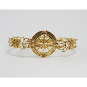 Pulseira Bracelete Feminina Rosa Dos Ventos Navy