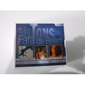 Box 3 Cds Fafá De Belém Três Tons