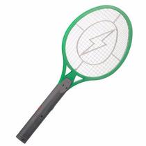 Raquete Eletrica Recarregável Bi-volt Mata Mosquito, Moscas