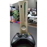 Xbox 360 Fat Com Rgh 120gb Desbloqueado Dourado Com Jogos