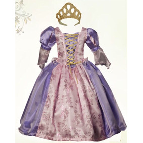 Rapunzel Vestido Princesa Y Zapatillas Envio Gratis!!!!