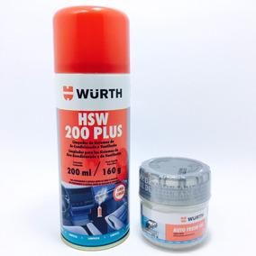 Higienizador Ar Condicionado Hsw200 Plus + Odorizador Wurth