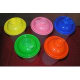 Vaso Cooler Con Tapa De Colores Cotillon