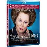 Blu-ray A Dama De Ferro - Meryl Streep, Jim Broadbent