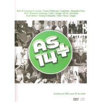 Dvd As 14 + Bruno E Marrone, Alexandre Pires, Belo, Leonardo