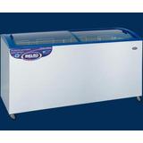 Freezer Helados Inelro P. Inclinado Tapa Vid Mod. Fih-550 Pi