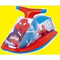 Bóia Inflável Homem Aranha Jet Ski Brinquedo Criança Piscina