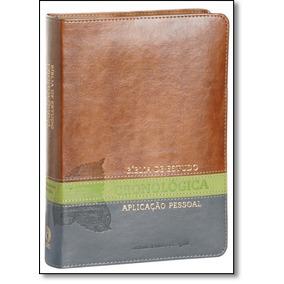 Biblia De Estudo Cron Aplic Pessoal Cp Lx Tj Verde De Cpad