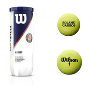 Pelota De Tenis Wilson Roland Garros Nueva Edicion X3 Clay