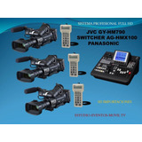 Jvc-panasonic Camaras Eventos-studio-movil Tv