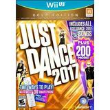 Entrega Inmediata! Justa Dance 2017 Gold Edition Wii U