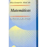 Diccionario Akal De Matemáticas Bouvier George Tapa Dura