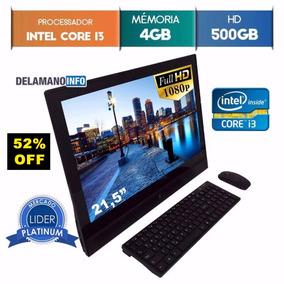 Computador All In One 500gb I3 3º Geração Windows 10 (9569)