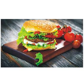 Adesivo Sanduiche Decorativo De Cozinha Comida Lanche J 159