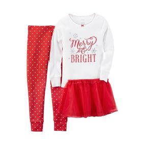 Pijama Carters Holiday / Navidad Bebe Tutu