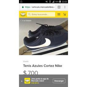 Tenis Nike Cortez Azules