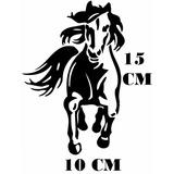 Adesivo Cavalo Crioulo Cavalgando Fazenda Com Frete Grátis