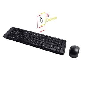 Kit Teclado+mouse Wireless Logitech Mk220 Combo Nuevo - S D