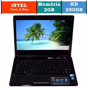 Notebook Asus Ul80a Core 2 Duo Memoria 2gb 250hd Hdmi