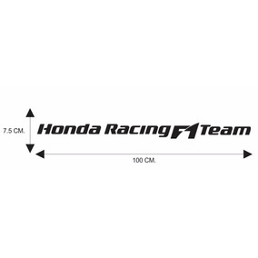 Calcomania, Calca Honda Racing F1 Team
