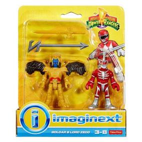 Fisher Price Imaginext Surtido Power Rangers Goldar Y Lordze