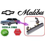 78-83 Chevrolet Malibu Manija Exterior Cromada Izquierdo