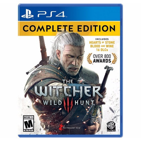 The Witcher 3 Complete Edition Ps4 Fisico New Full Gamer