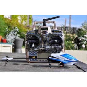 Helicóptero V977 Brushless Wltoys 6 Canais Promoção