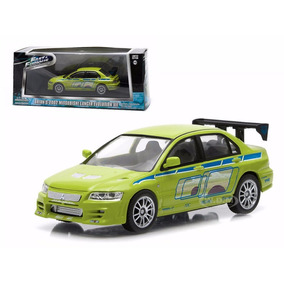 El333 1/43 Lancer Evo Lution 7 Rapido Y Furioso 2 Greenlight