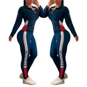 Conjunto Deportivo Leggings Dama Sexy Gym