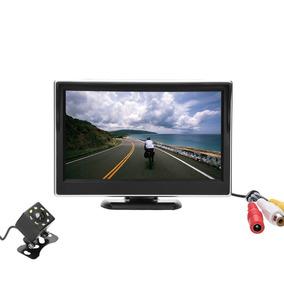 Camara Reversa Monitor Kit Lente Amplio Accesorios Autos