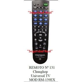 Control Remoto Chungop Tv Universal Mod. Rm-139ex 131