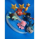 Decoracion De Torta Buscando A Nemo Dory 4 Personajes