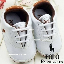 Tênis Sapatinho Bebê Infantil Ralph Lauren Promoção!