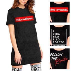 cb19cff47 Blusinhas Mega Modas Camisetas - Camisetas e Blusas no Mercado Livre ...