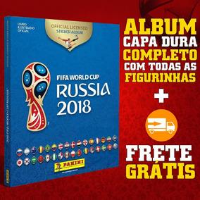 Álbum Da Copa Do Mundo Rússia 2018 Capa Dura Completo Panini