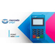 Kit Maquina De Cartão-point Mini Do Mercado Pago-10 Unidades