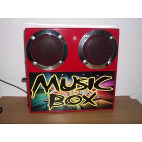 Caja De Música Tipo Rockola Para Máquinas O Proyectos