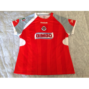 Jersey Chivas Reebok Temporada 2009 Mod Michel Dama Original