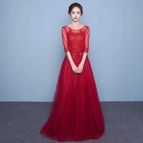 Vestido De Festa, Madrinha De Casamento, Formatura Vermelho