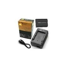 Kit Carregador+bateria Nikon Original En-el3e D50d70 D80 D90