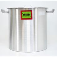 Olla Aluminio Con Asas Nro 32 Tresso 32x32cm 24l